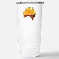 Australia Aboriginal Stainless Steel Travel Mug