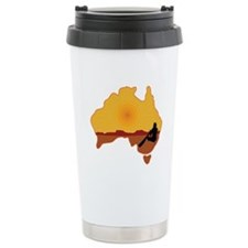 Australia Aboriginal Travel Mug