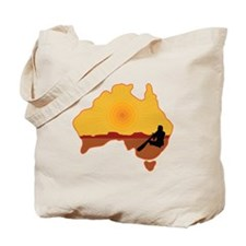 Australia Aboriginal Tote Bag