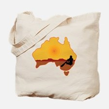 Australia Aboriginal Tote Bag