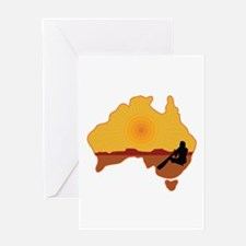 Australia Aboriginal Greeting Card