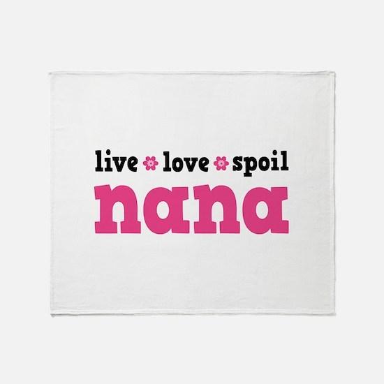Live Love Spoil Nana Stadium Blanket