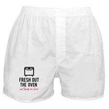 Fresh out the oven... and ready for lovin' Boxer S