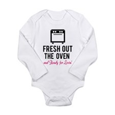 Fresh out the oven... and ready for lovin' Onesie Romper Suit