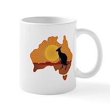 Australia Kangaroo Small Mugs