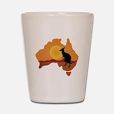 Australia Kangaroo Shot Glass