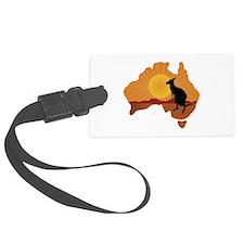 Australia Kangaroo Luggage Tag