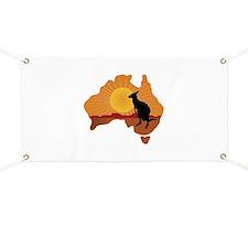 Australia Kangaroo Banner