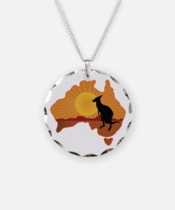 Australia Kangaroo Necklace
