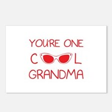 You're one cool grandma Postcards (Package of 8)
