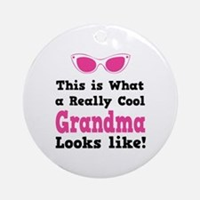 This is what a really cool grandma looks like! Orn