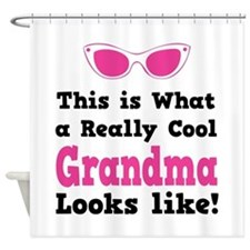This is what a really cool grandma looks like! Sho