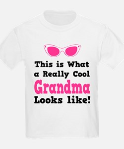 This is what a really cool grandma looks like! Kid