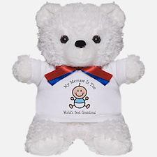Best Memaw Baby Girl Stick Figure Teddy Bear