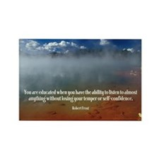 Educated Rectangle Magnet (100 pack)