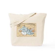 Kitsune Lovers Tote Bag