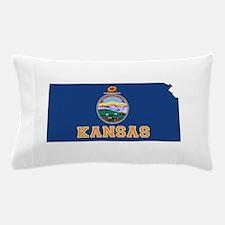 Kansas Flag Pillow Case