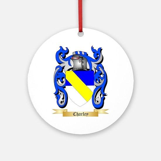 Charley Ornament (Round)