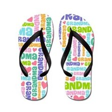 Cute Gift For Grandma Flip Flops