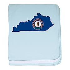 Kentucky Flag baby blanket