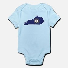 Kentucky Flag Infant Bodysuit