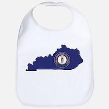 Kentucky Flag Bib
