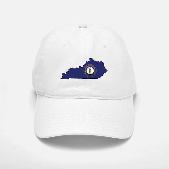 Kentucky Flag Baseball Baseball Cap