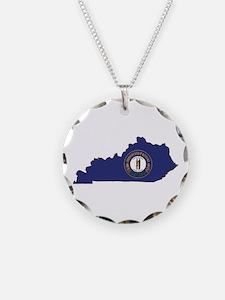 Kentucky Flag Necklace