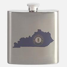 Kentucky Flag Flask