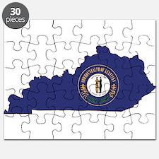 Kentucky Flag Puzzle