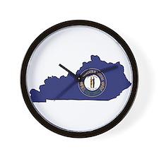 Kentucky Flag Wall Clock