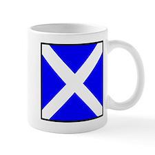 Nautical Flag Code Mike Small Mug