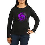 Lupus Awareness Women's Long Sleeve Dark T-Shirt