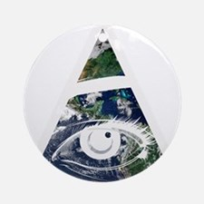 All Seeing Eye Ornament (Round)