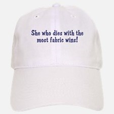 Funny Quilters Quote Baseball Baseball Cap
