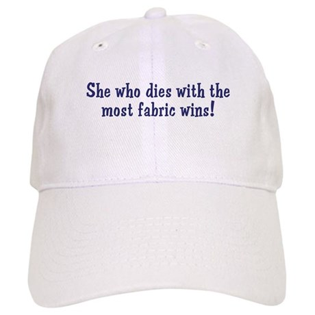 Funny Quilters Quote Cap