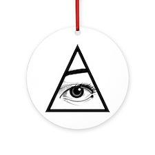 The Eye Ornament (Round)