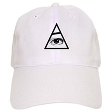 The Eye Baseball Baseball Cap