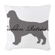5-greysilhouette2.png Woven Throw Pillow