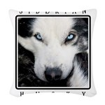 eyes.png Woven Throw Pillow