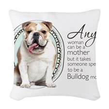 specialmom.png Woven Throw Pillow