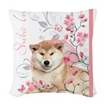 blossom.png Woven Throw Pillow