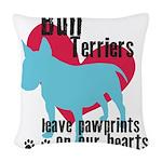 pawprints.png Woven Throw Pillow