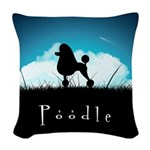 nightsky.png Woven Throw Pillow