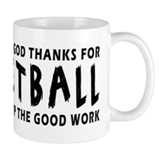 Dear God Thanks For Netball Mug