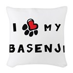 pawheart.png Woven Throw Pillow