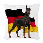 flag3.png Woven Throw Pillow