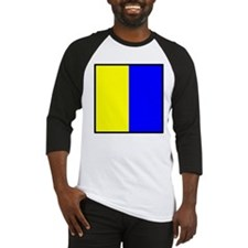 Nautical Flag Code Kilo Baseball Jersey
