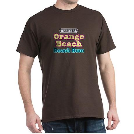 Orange Beach-Beach Bum Dark T-Shirt