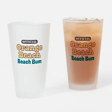Orange Beach-Beach Bum Drinking Glass